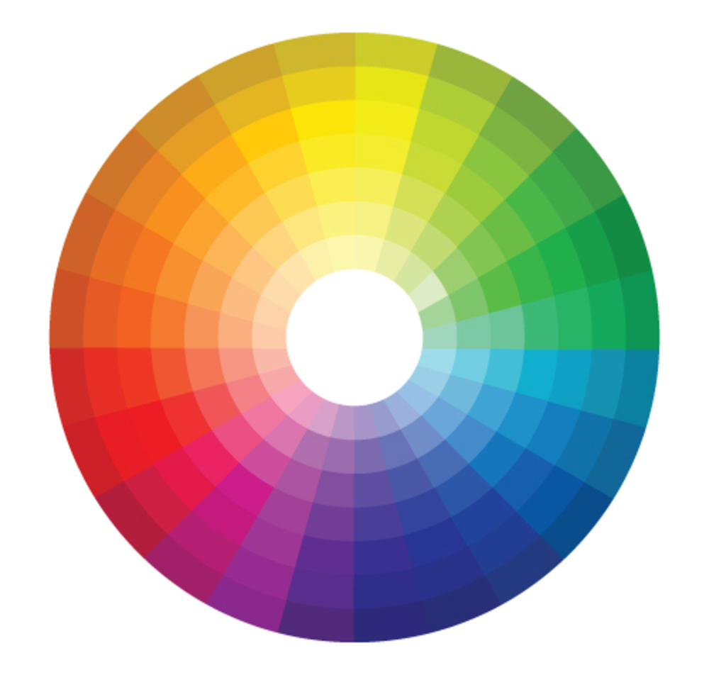 Decorate like an interior designer with these 5 simple tips - Color wheel interior design ...